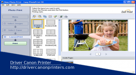 Download Canon Easy PhotoPrint EX Ver.4.7.0 For Windows
