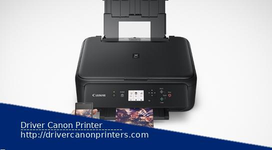 Canon Pixma TS5100 Series Driver Windows and Linux