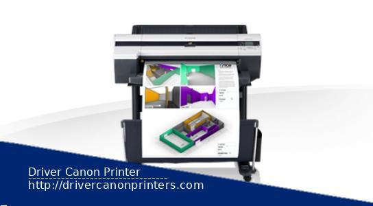 Canon imagePROGRAF iPF600 Driver Printer