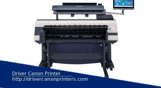 Canon iPF850 MFP M40 Drivers Printer Downloads