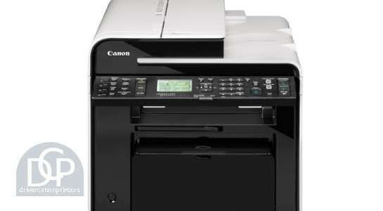 Driver Canon ImageCLASS MF4890dw Printer