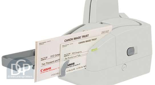 Canon Check Scanner imageFORMULA CR-25 Driver