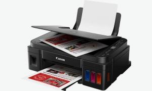 Printer Driver Canon Pixma G3410 Windows and Linux