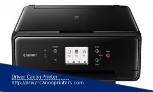 Canon Pixma TS6100 Driver Series For Windows