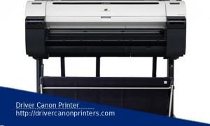 Canon imagePROGRAF iPF770 MFP M40 Printer Drivers Downloads