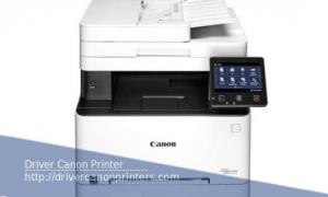 Canon Color ImageCLASS MF644Cdw Driver