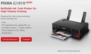 Canon Pixma G1010 Driver Printer Full Software