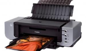 Canon pixma Pro9000 Driver Printer