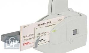 Canon Check Scanner imageFORMULA CR-25 Driver