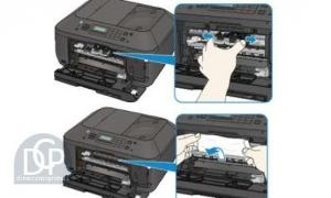 Error Code ER003 Canon Pixma MX530 Series