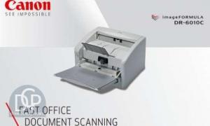 imageFORMULA DR-6010C Scanner Driver Download